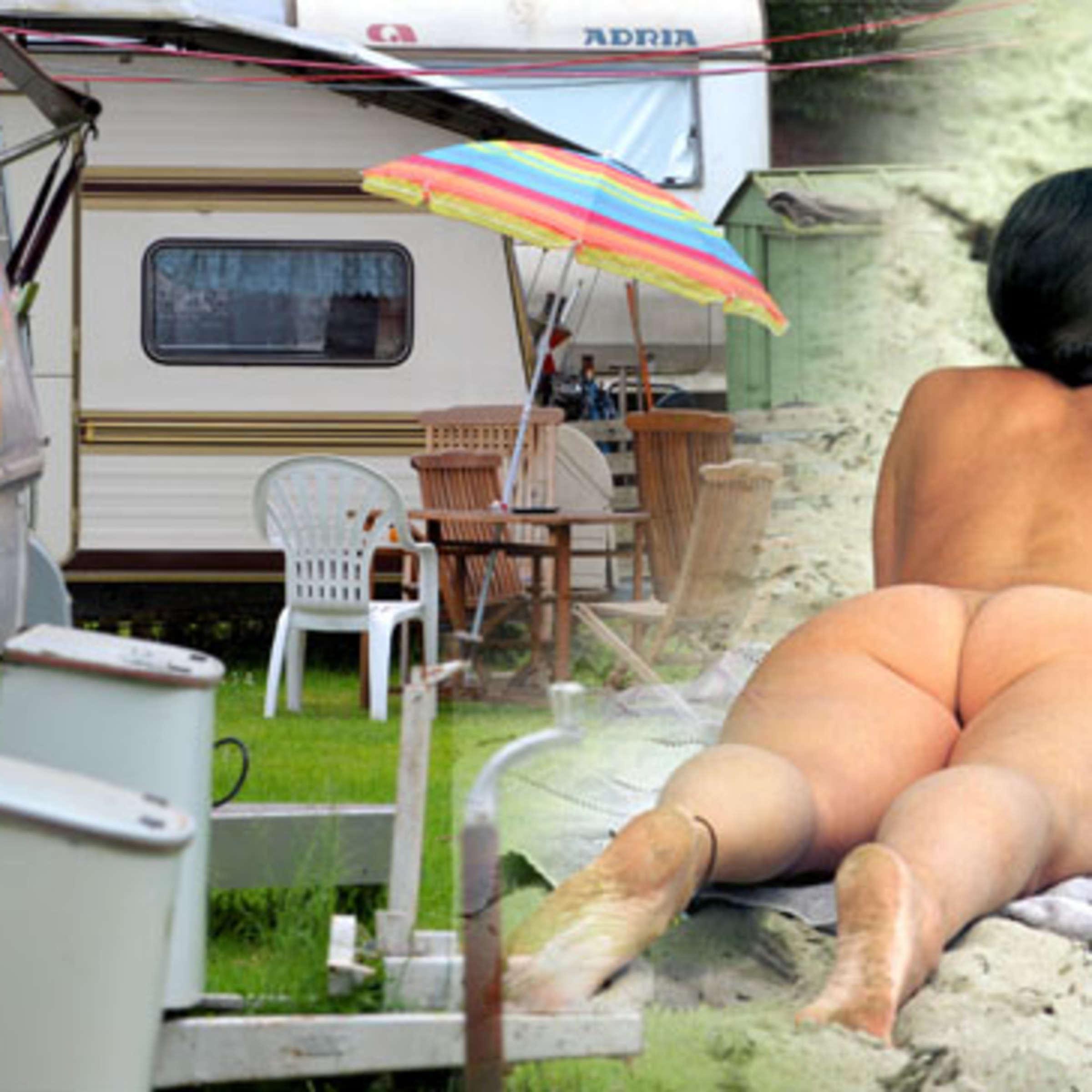 Beim camping nackt FKK Solaris