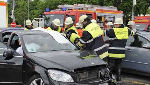 Crash am Kiesselbachplatz