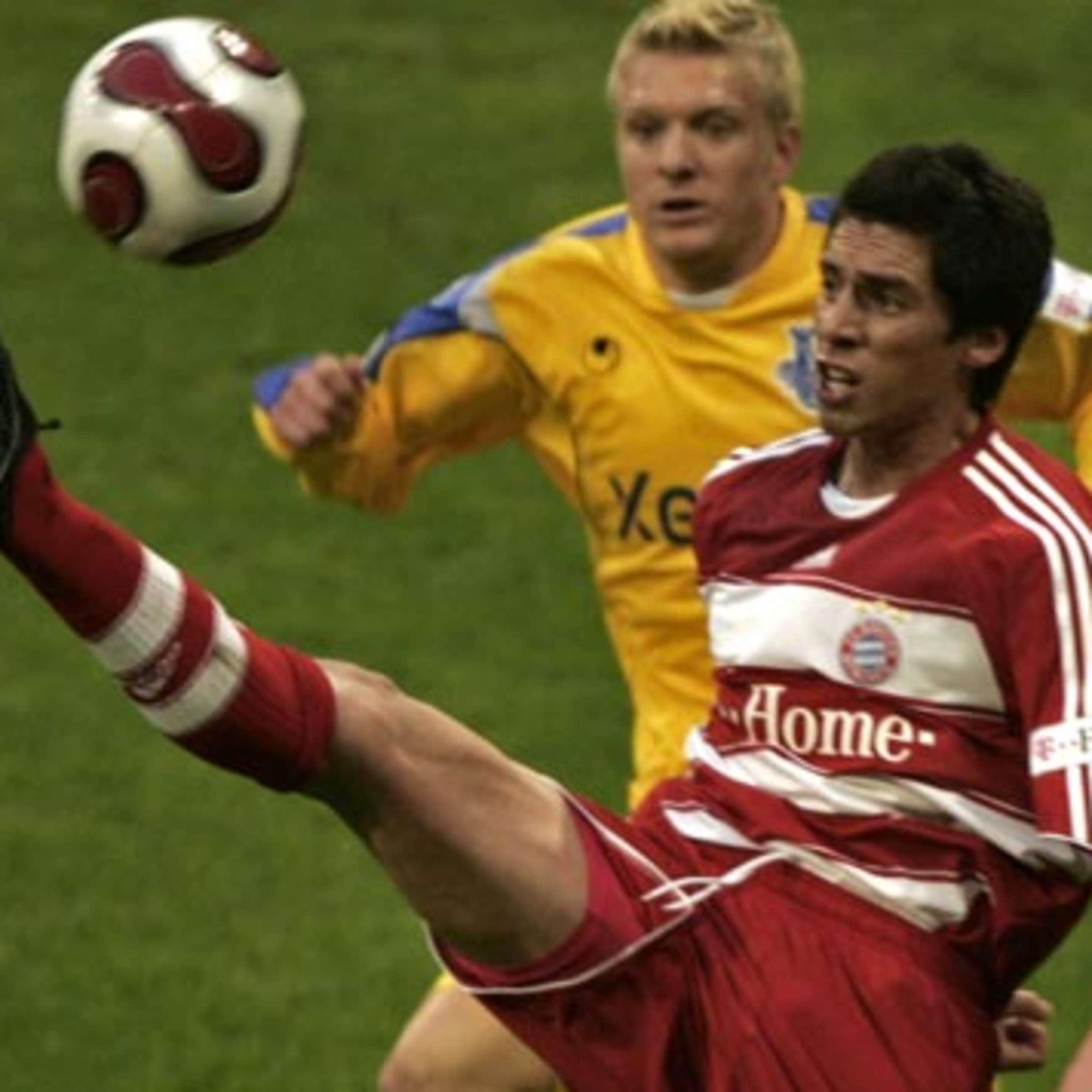 José Sosa - Vertrag beim FC Bayern