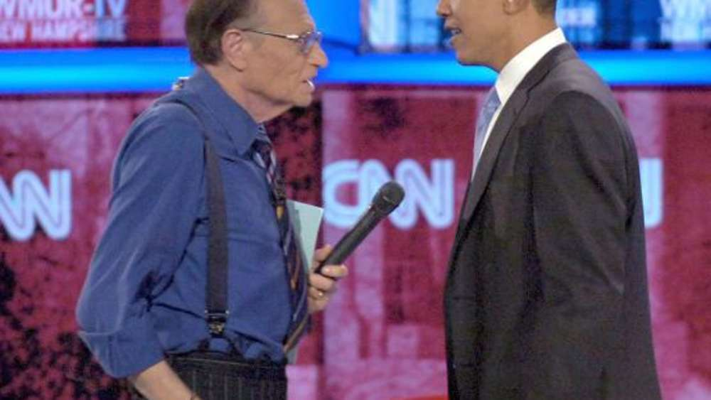 Larry King Barack Obama
