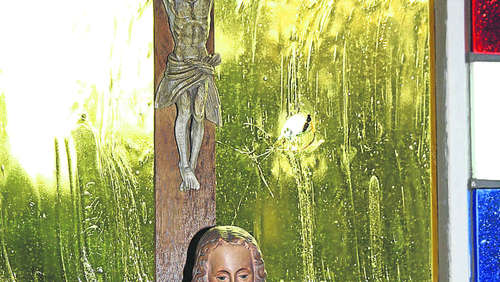 Vandalismus in der Kapelle