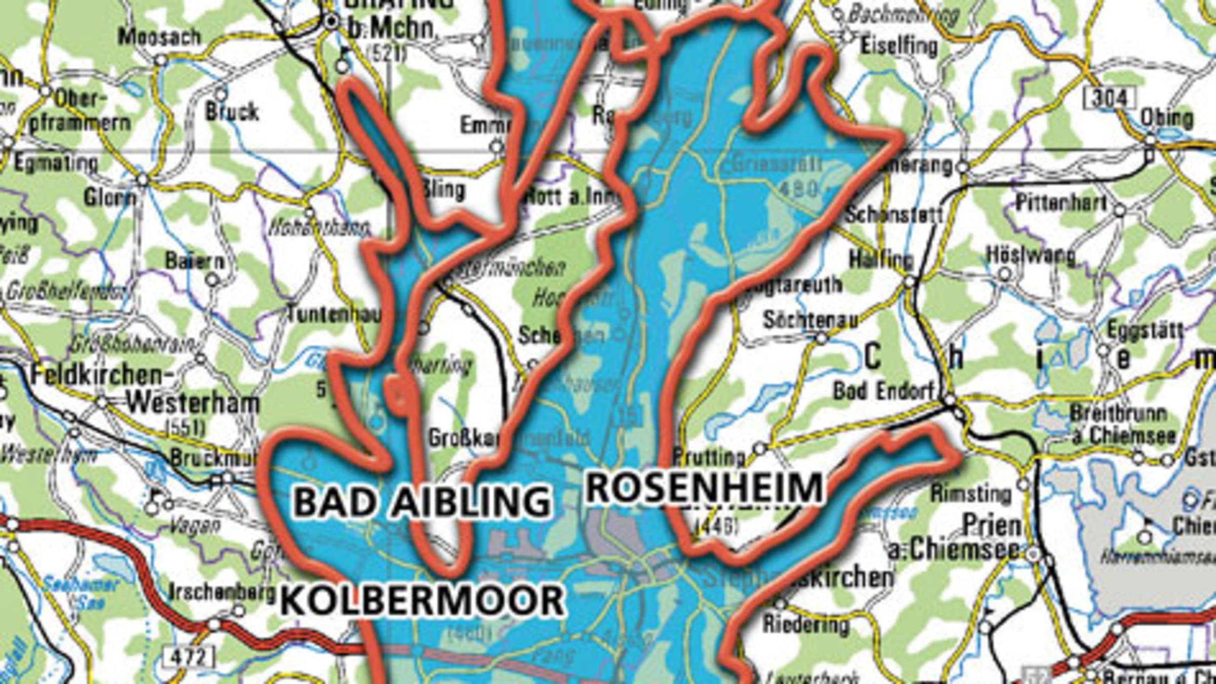Riesen See Bei Rosenheim Entdeckt Bayern
