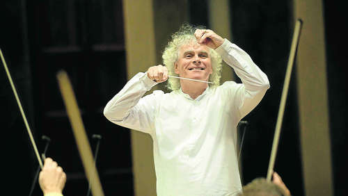 Sir Simon Rattle debütiert beim BR: Interview