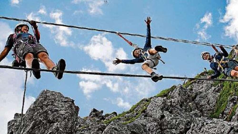 Klettersteig Set Gurt : Klettersteig sets unter kilo wird s lebensgefährlich outdoor