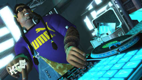Screenshots aus DJ Hero 2
