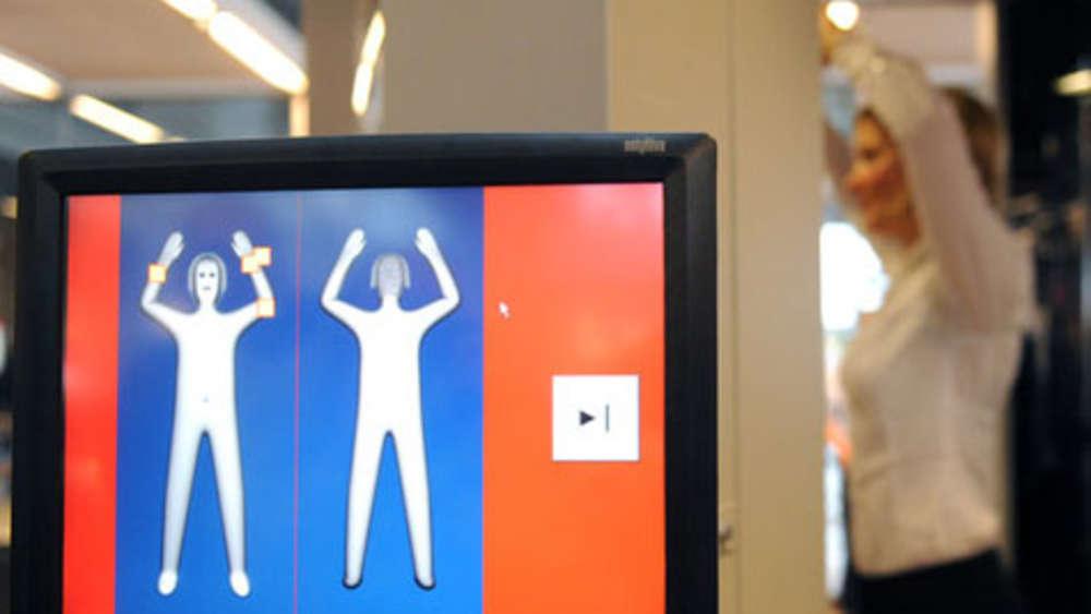 Körperscanner Am Flughafen 21 Prozent Achten Auf Frische Und