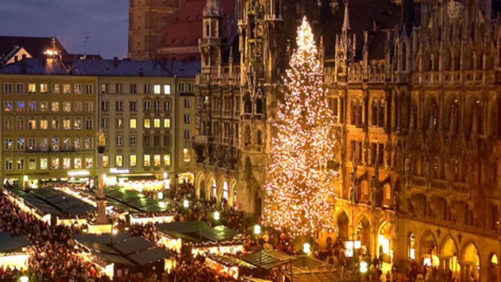 Marienplatz Weihnachtsmarkt.Christkindlmärkte Und Weihnachtsmärkte In München Und Der Region Leben