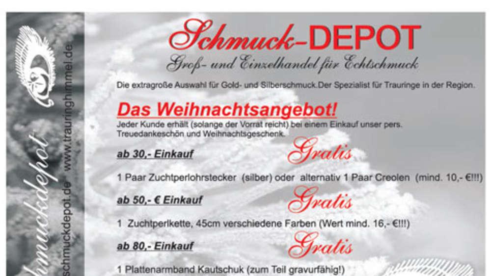 Adventskalender Freising Schmuck Depot Adventskalender