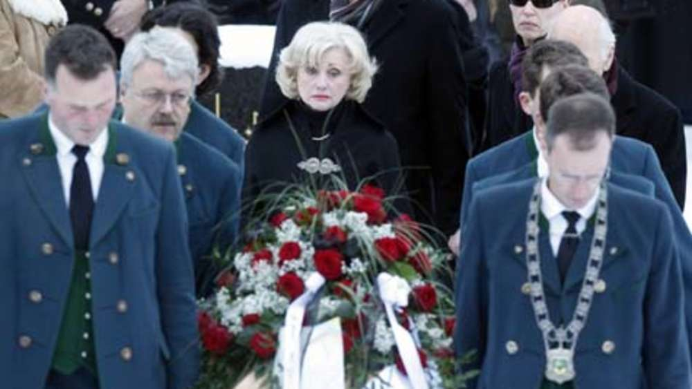 Karl Moik Beerdigung
