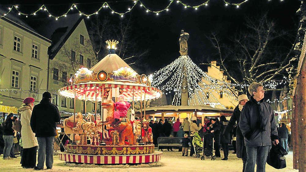Schongau Weihnachtsmarkt.Schongauer Weihnachtsmarkt Eröffnet Schongau