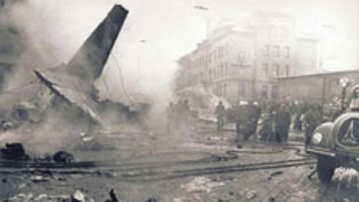 Flugzeugabsturz In München