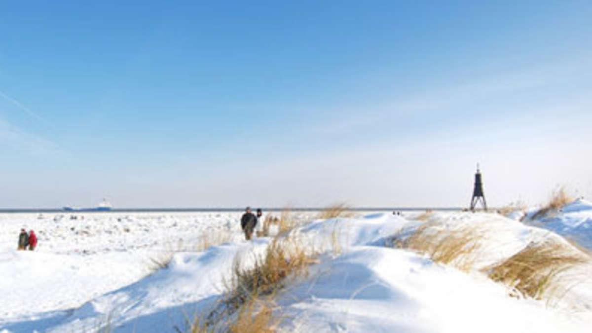 Cuxhaven Im Winter