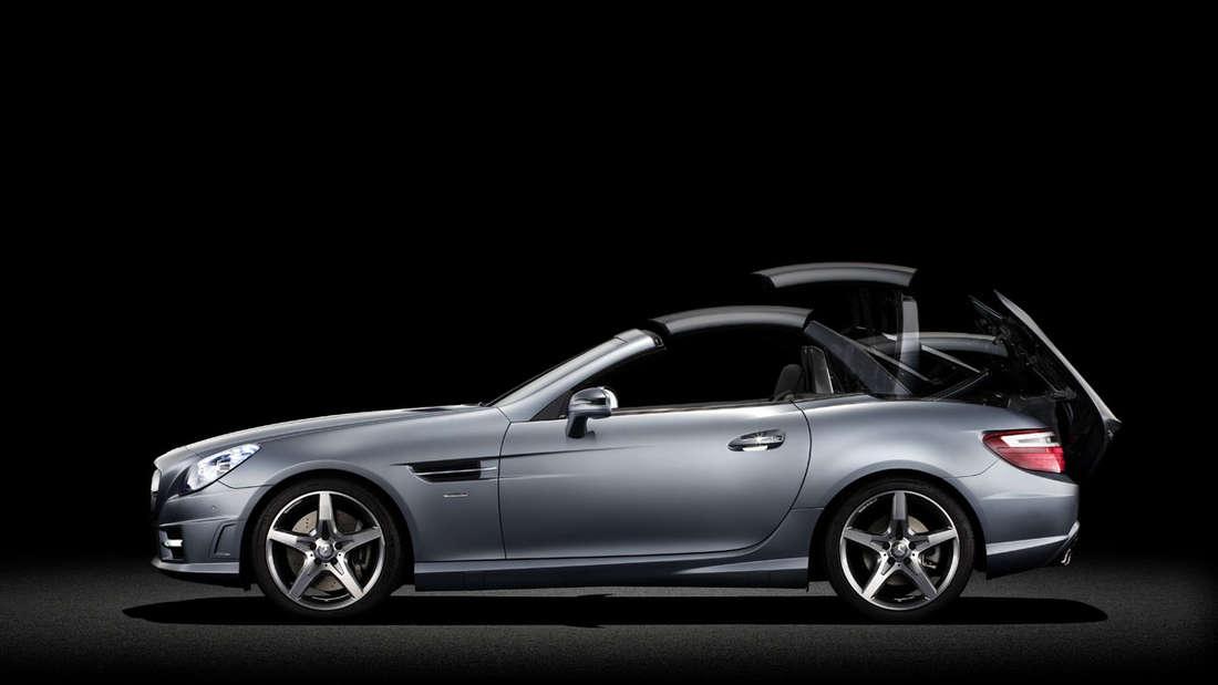 Mercedes: Die ersten Bilder vom SLK Roadster