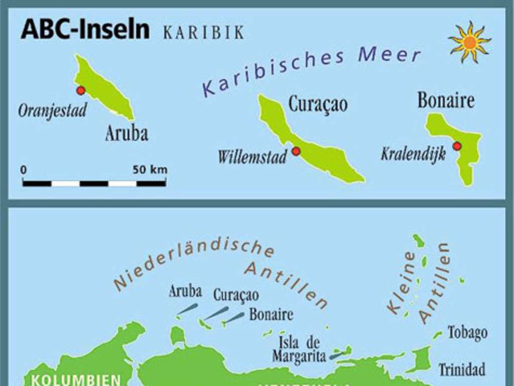 Aruba Curacao Und Bonaire Abc Inseln In Der Karibik Reise