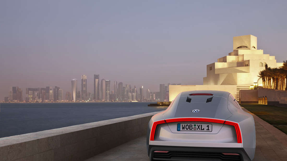 Das Ein-Liter-Auto: VW Studie L1