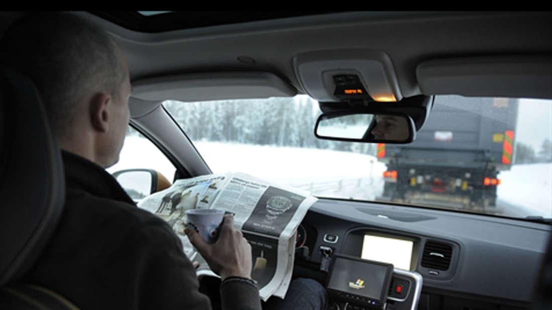 SATRE Volvo Autopilot Kolonne