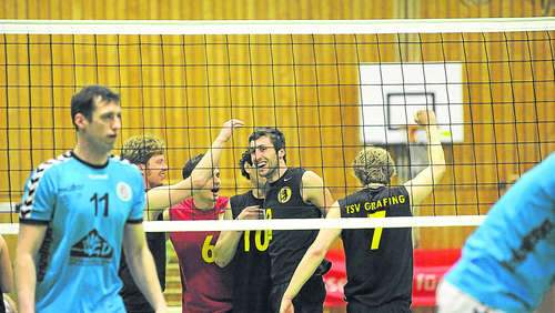 "Volleyball Marke ""Fighting bayerisch"""