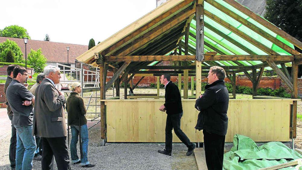 Morsches Holz neuen Salettl Baustopp Gemeinderat Mauern ...