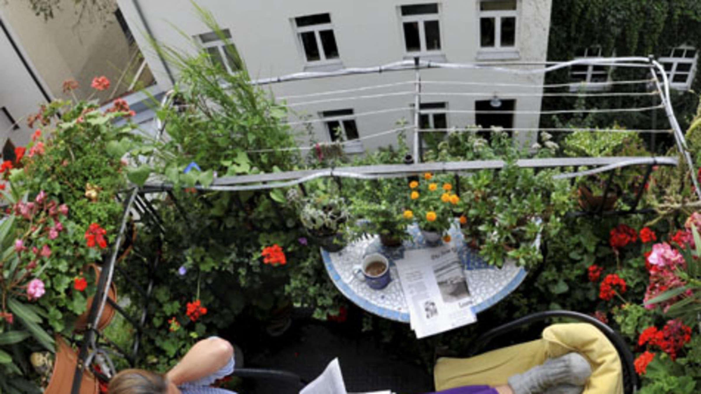 Mieterrechte Auf Dem Balkon Wohnen