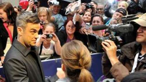 "Premiere von ""Cars 2"": Robbie Williams in München"