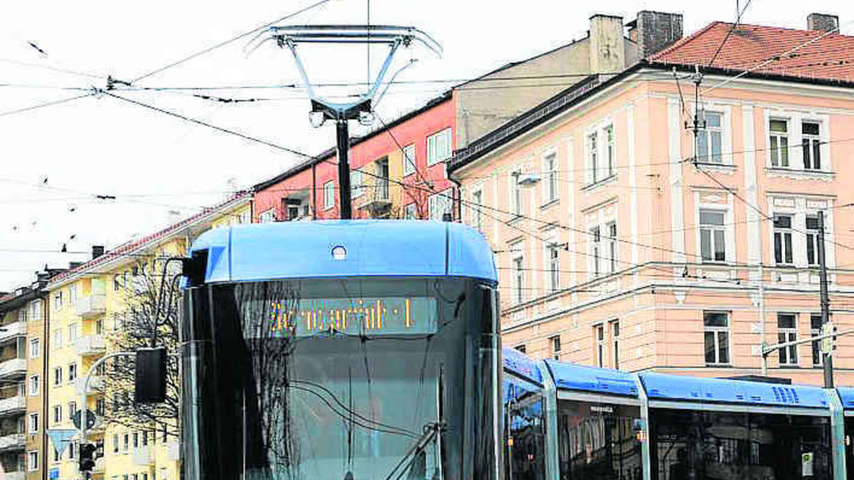 Vario Tram Bleibt Im Depot Stadt M Nchen