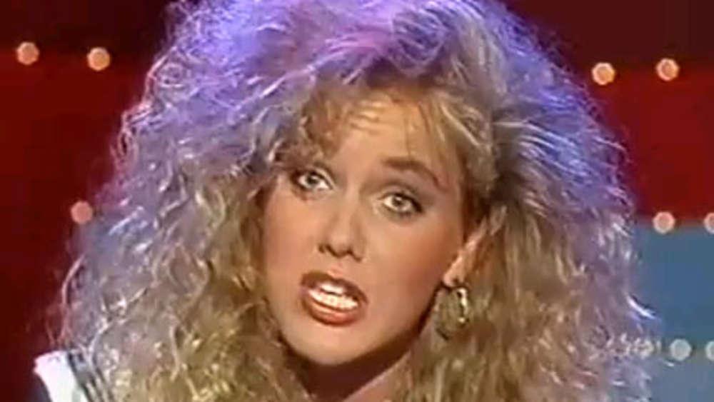 Dustere Frisur Vergangenheit Haben Sie Tv Star Inka Bause Erkannt