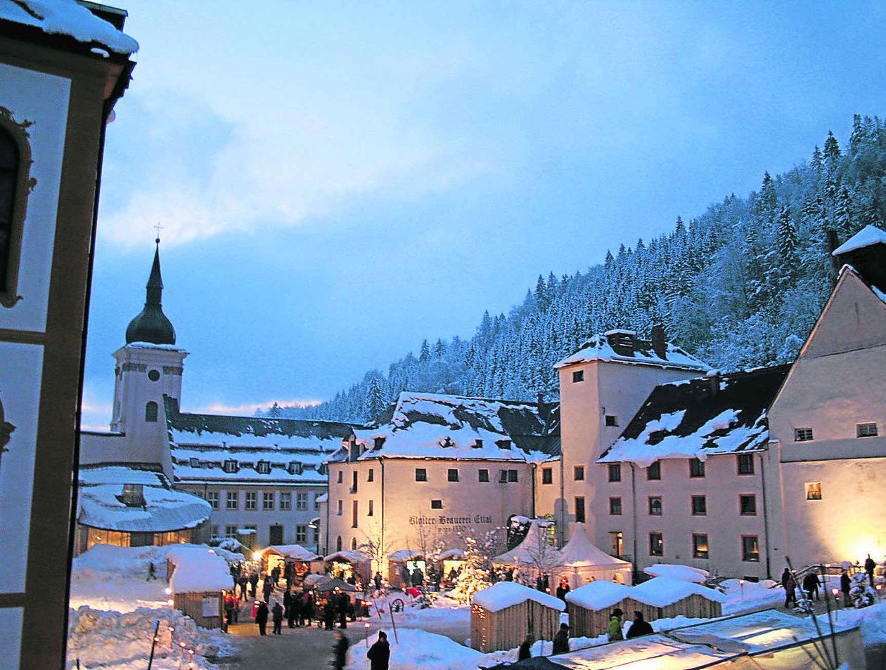 Weihnachtsmarkt Oberammergau.Große Weihnachtsmärkte In Oberammergau Und Im Kloster Ettal