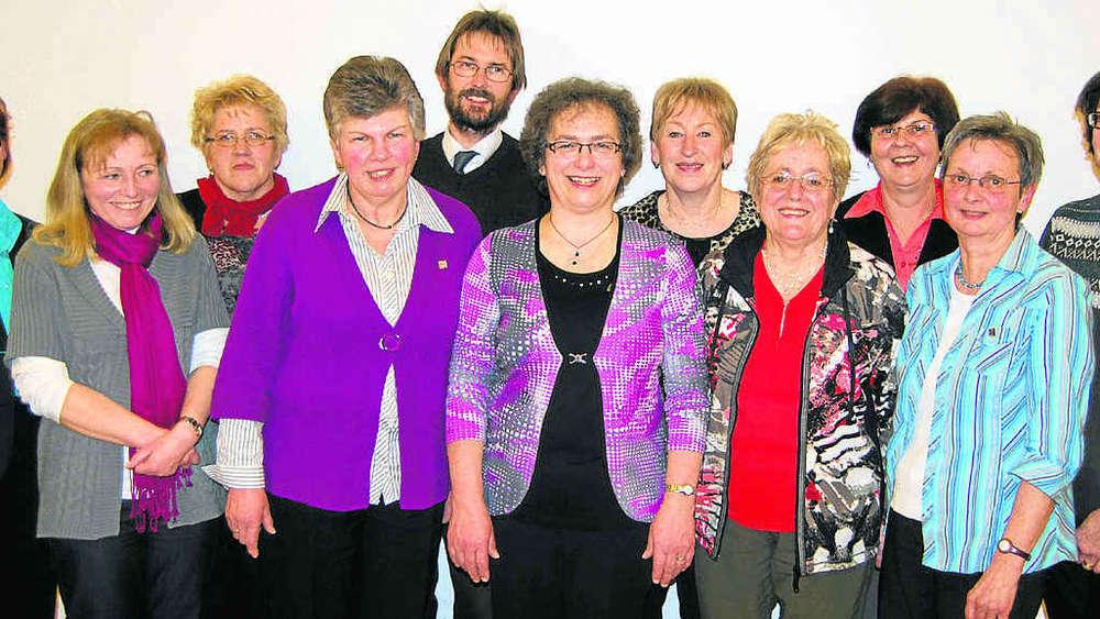 Frauenbund Au Elfinger Bleibt Vorsitzende Freising