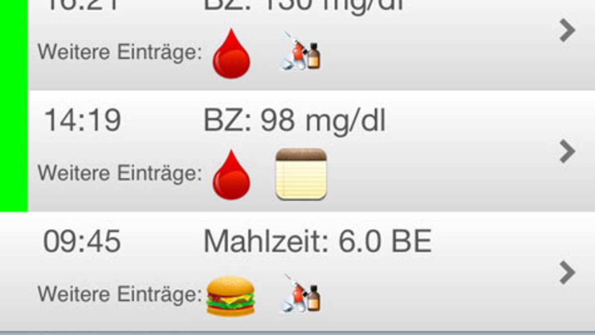 """""""meinDiabetes"""" - Neue Smartphone-App für Menschen mit Diabetes"""
