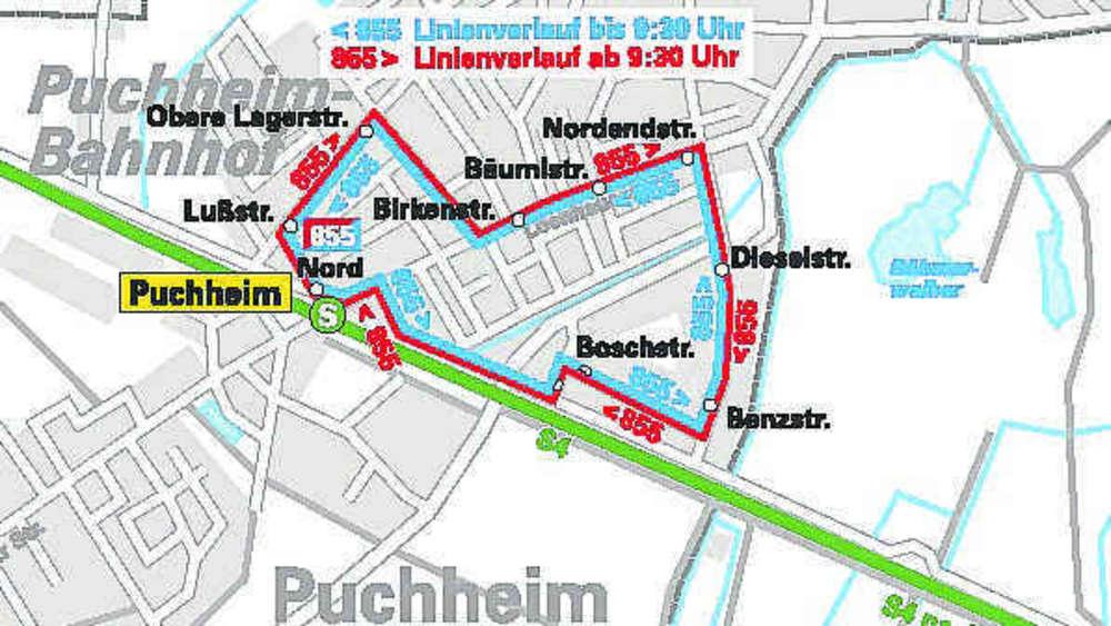 Jungfernfahrt Der Buslinie 855 Steht An Mvv München