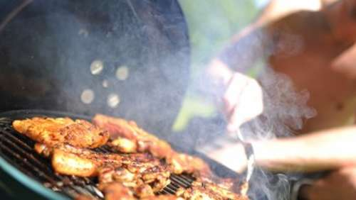 Abruptes Ende einer Grillparty am Anger