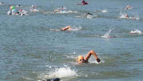 "Bilder vom ""Mini-Ironman"" in Glonn"