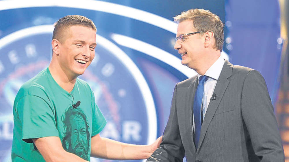 Rtl Wer Wird Millionär Aaron Troschke Mit Günther Jauch Auf