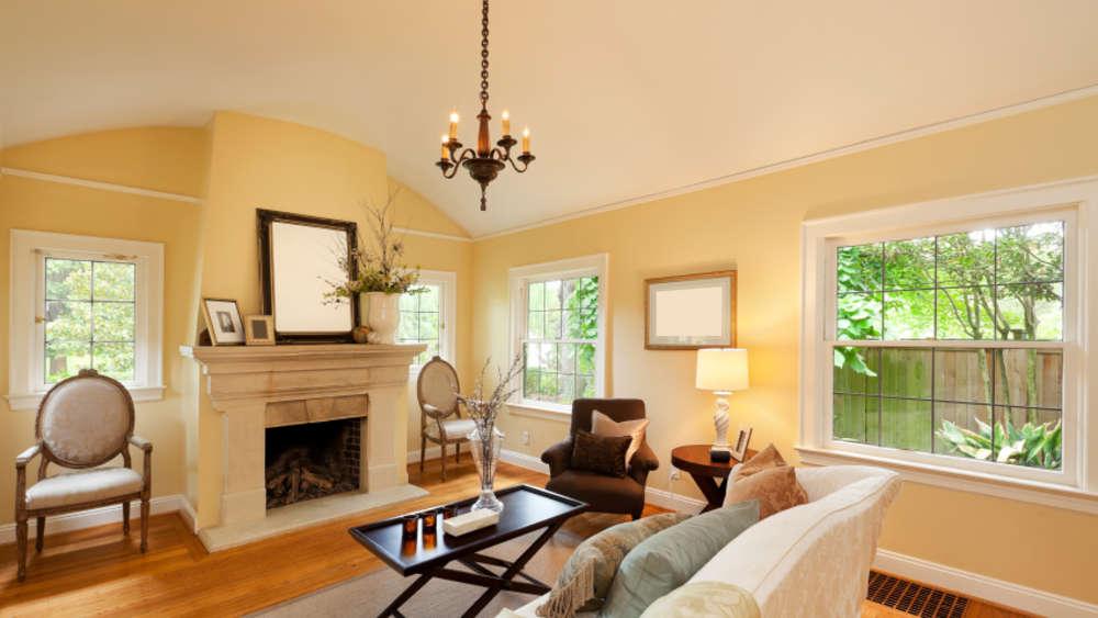 wohnzimmer einrichten von klassisch elegant bis asiatisch welt. Black Bedroom Furniture Sets. Home Design Ideas