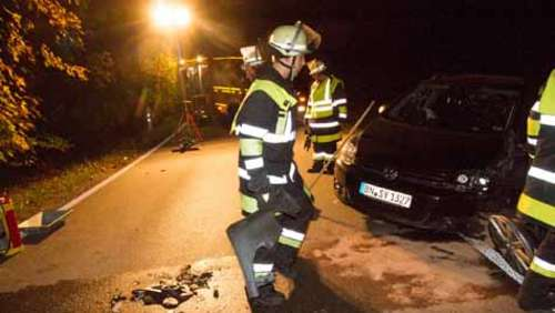 Unfall bei Perchting
