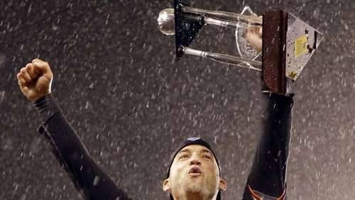 Giants und Tigers in der World Series