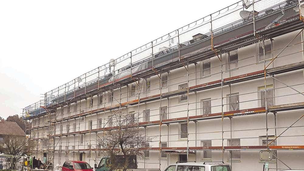 Sanierungen der Wohnungen im Tal voll im Zeitrahmen   Schongau