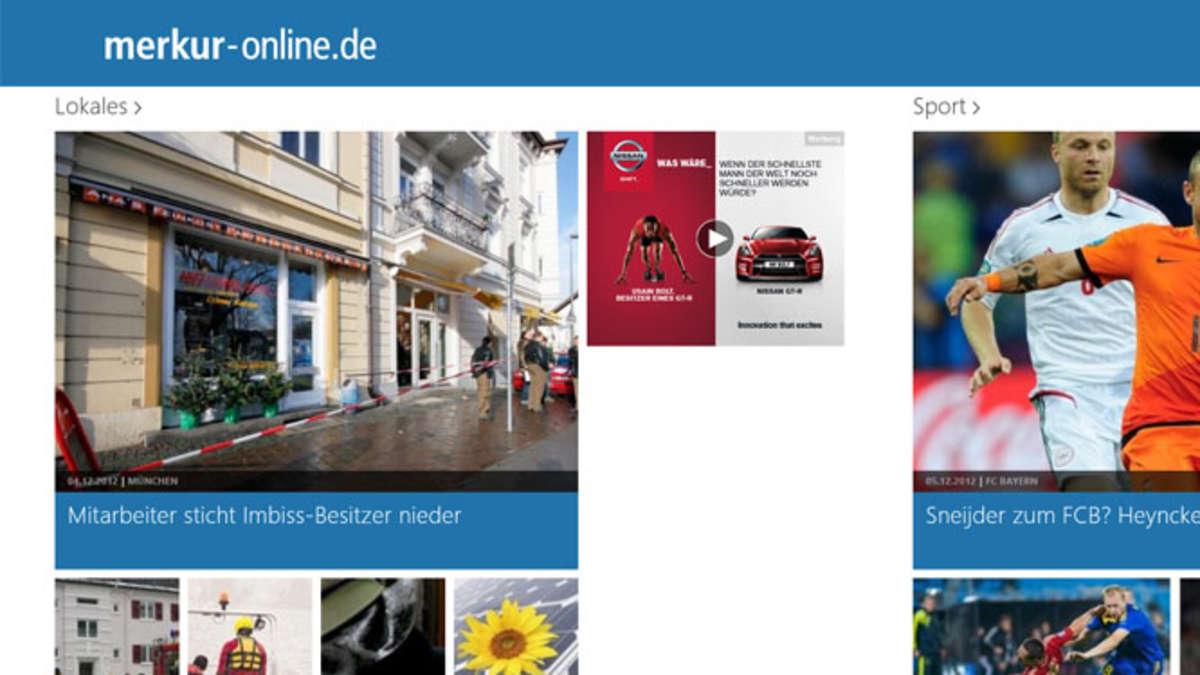 Bekjente München Merkur online