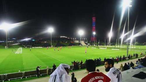 FC-Bayern-Trainingslager in Doha: Ankunft und erstes Training