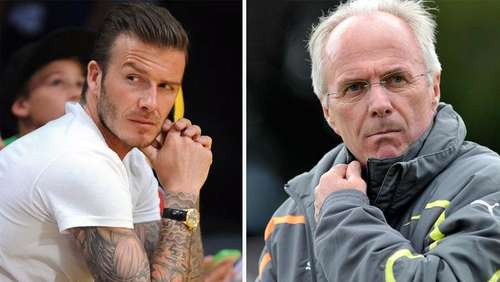 Eriksson will Beckham in die Emirate holen