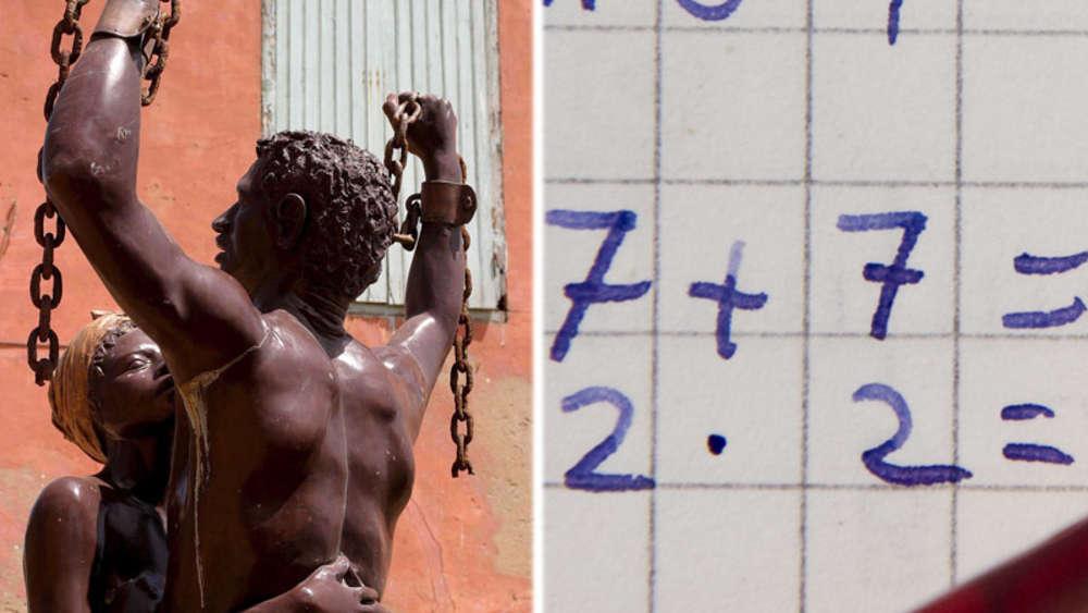 Mathe-Hausaufgaben über Sklaverei: Empörung in Grundschule in New ...