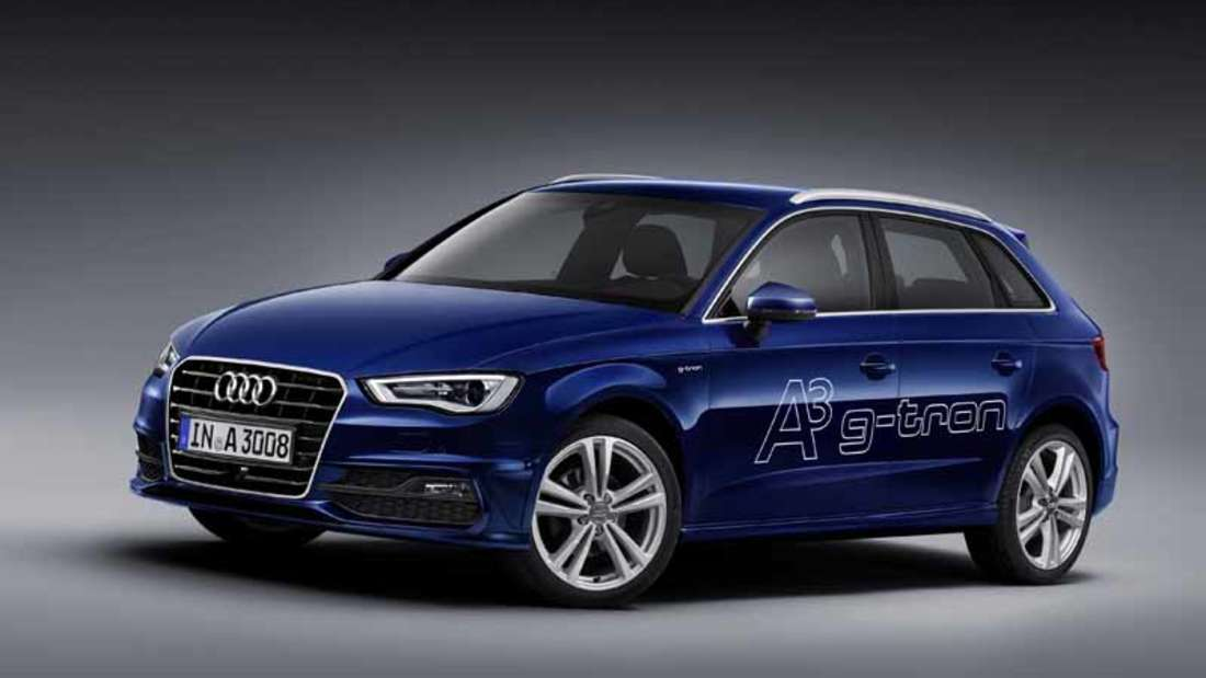 Der neue Audi A3 Sportback g-tron