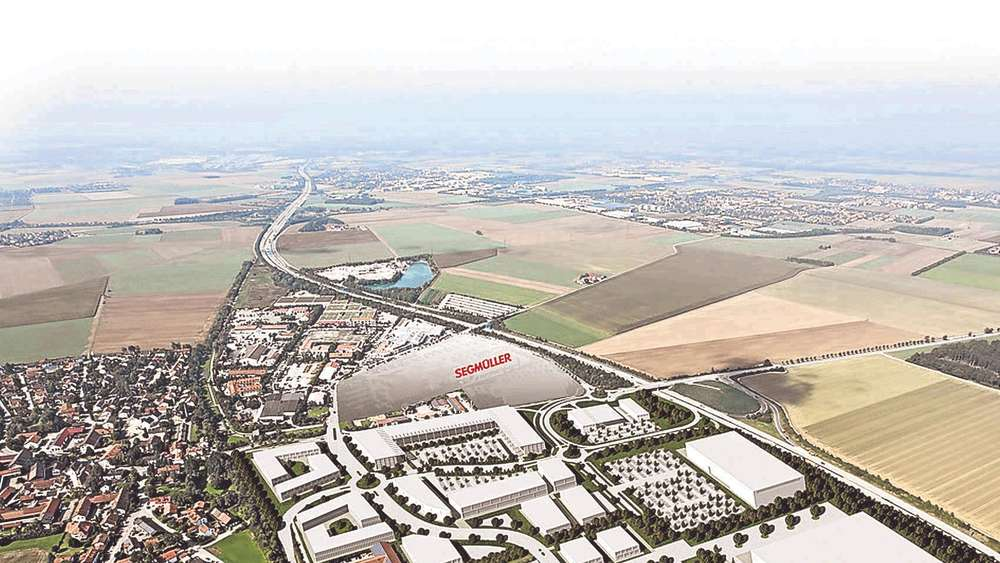 Gewerbegebiet Parsdorf Genehmigt 40 Fußballfelder Voller