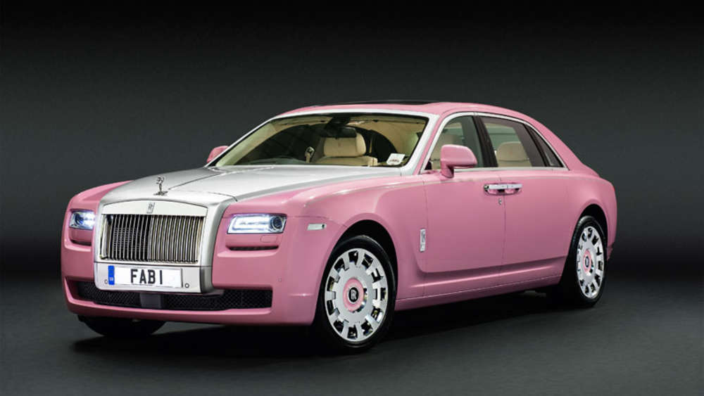 Rolls-Royce Ghost in Pink