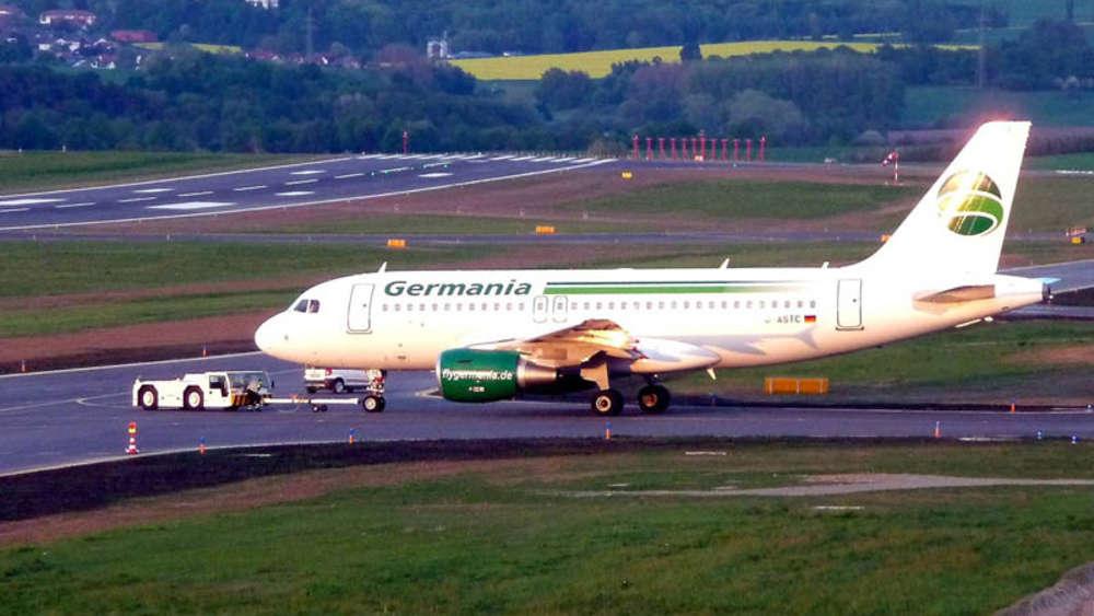 Flughafen Kassel Calden Pilot Lenkt Germania Airbus In Sackgasse