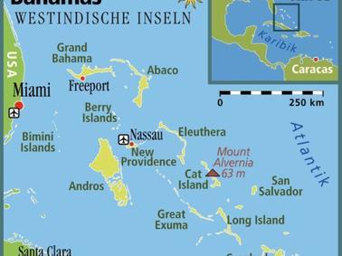 Karibik Karte Deutsch.Die Bahamas Und Der Neue Fluch Der Karibik Reise