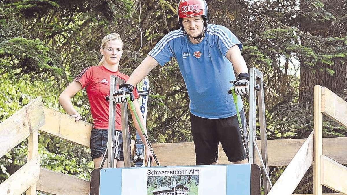 Simon Stickl hat viel Holz hinter der Hütt'n   Regionen Sabrina Weilharter