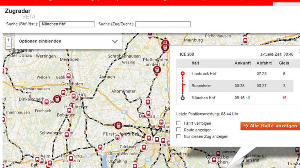 Db Bahn Bahn App Für Fahrplanauskunft Und Tickets Sowie