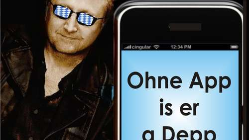 "Wiesn-Hit: Manaleid mit ""Ohne App is er a Depp"""