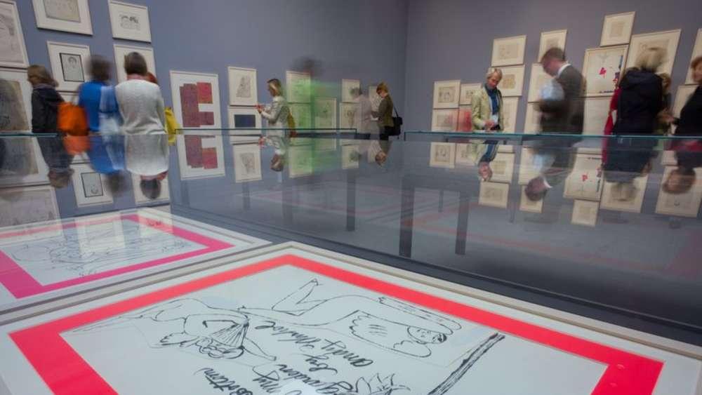 Pinakothek Der Moderne: Sammlung Von Andy Warhol Mit Einer Sensation |  Kultur